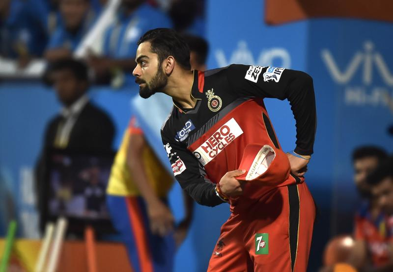 Take a bow, Kohli: We celebrate the Indian cricketer's 28th birthday by catching him in funny moments on and off the field.  (Ajay AggarwaL /HT PHOTO)