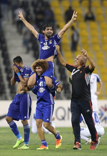 Hammadi Ahmed Abdullah had a wonderful AFC Cup and his goal proved to be the difference in Iraq Air Force Club winning the title. (AFP)