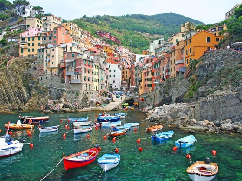 Last year, Cinque Terre in Italy received 2.5 million tourists. Officials hope to limit the number to 1.5 million a year with the introduction of special tourist cards that would have to be purchased in order to access the trails. (Shutterstock)