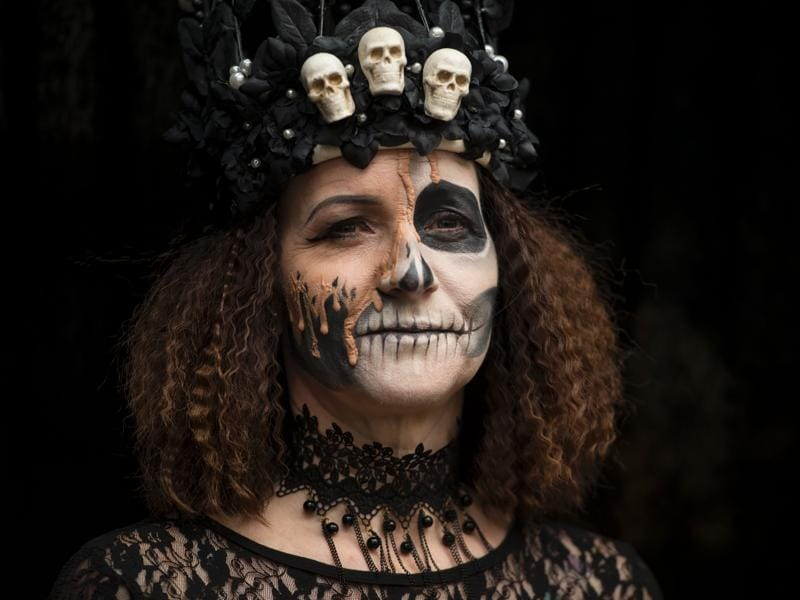 A celebration of non-conformity, diversity and freedom of expression, the Whitby Goth Weekend was founded in 1994.  (AFP)
