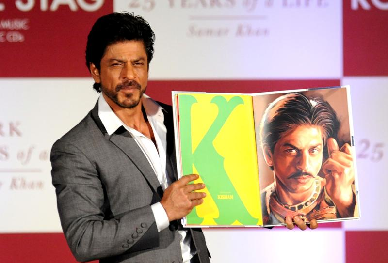 There are many documentaries made on Shah Rukh Khan's life as well. (AFP Photo)