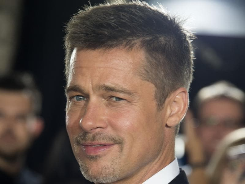 Actor Brad Pitt attends The Allied Fan Event Presented by Paramount Pictures. (AFP)