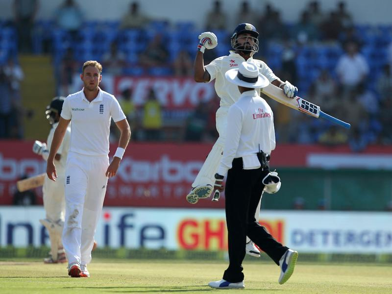 Murali Vijay notched up his seventh Test century and his second against England. (BCCI)