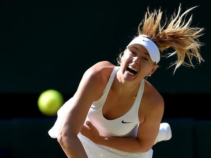Russian tennis player, Maria Sharapova will resume her role as a United Nations (UN)  goodwill ambassador when her drug suspension ends in April.  (Toby Melville/Reuters Photo)