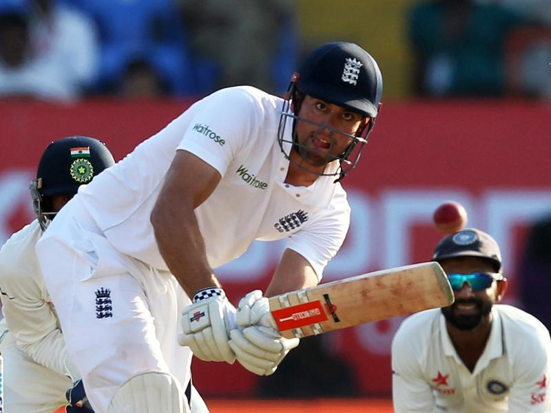 Cook looked in assured touch and he tackled the spinners very well. (BCCI)
