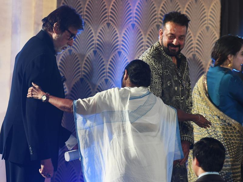 Sanjay Dutt also attended the 22nd Kolkata International Film Festival. (AFP Photo)