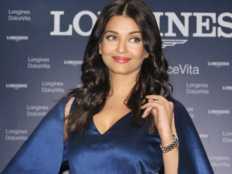 Aishwarya Rai Bachchan at a launch event in Noida on Saturday. (PTI Photo)