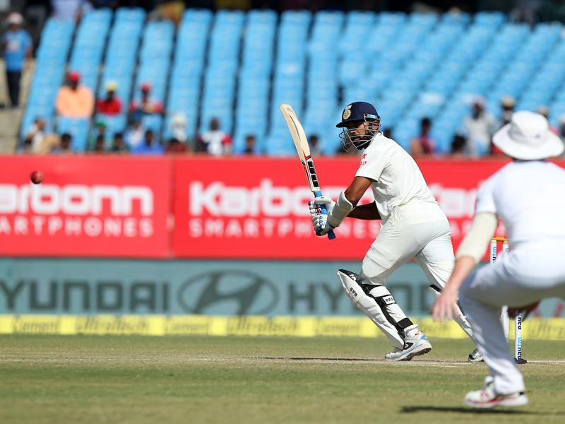 Murali Vijay was joined by Cheteshwar Pujara and the pair scored runs at a fairly decent pace. (BCCI)