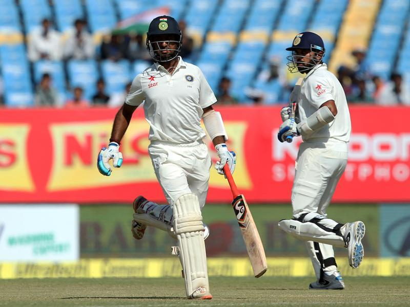 The partnership yielded 47 runs and it looked like India would be safe. (BCCI)