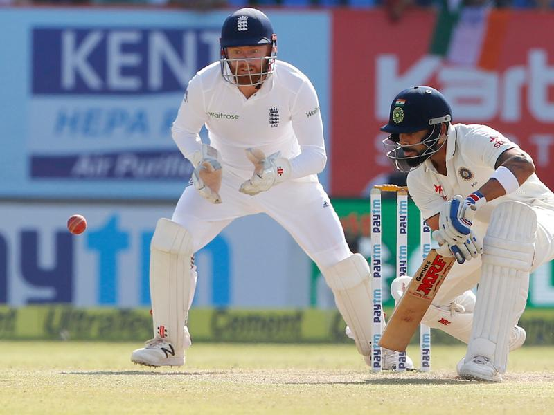 Virat Kohli was cautious but he punished any loose balls that was bowled by England. (BCCI)