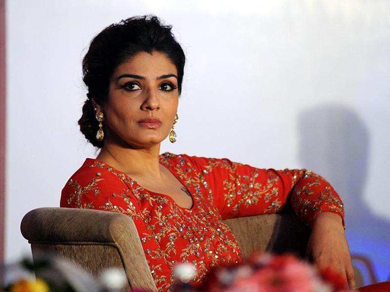 Does this photo not remind you of Raveena's film Satta? (AFP Photo)