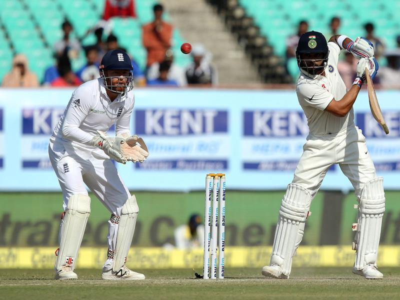 Virat Kohli hung in and ensured there were no further slip-ups. (BCCI)