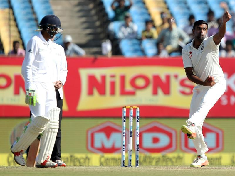 Ravichandran Ashwin tried to exploit the conditions but the England openers did not give a single chance. (BCCI)