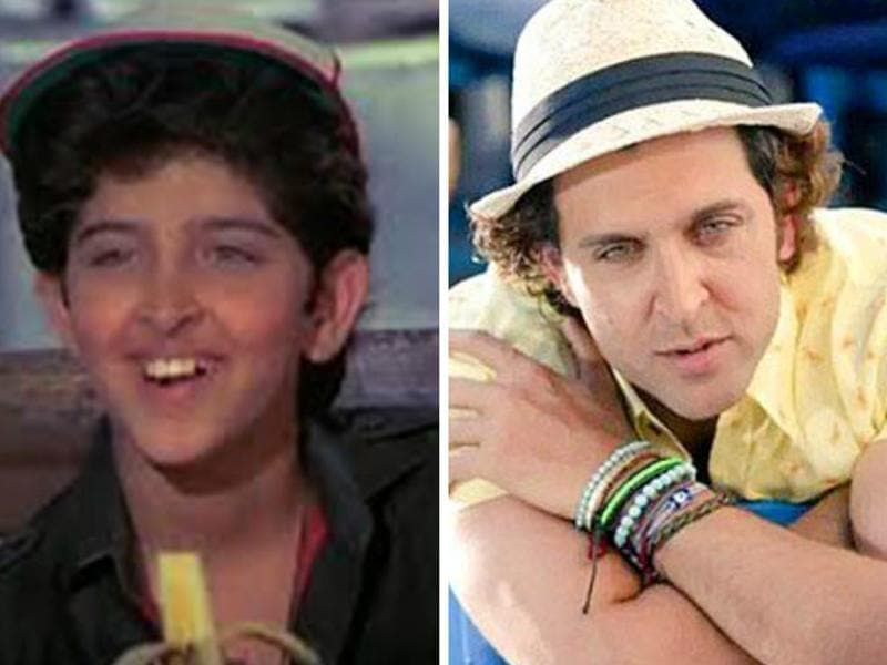 Through the 1980s, Hrithik Roshan appeared in a number of films as a child artist, prominent being Bhagwaan Dada starring Rajinikanth, Sridevi and Rakesh Roshan.