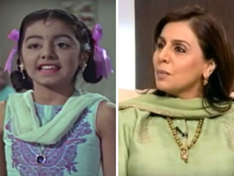 Neetu Singh too started out young and began acting at the age of eight. Her first role was in Suraj (1966).