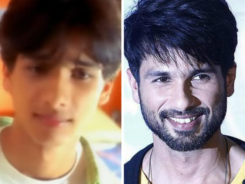 Shahid Kapoor began appearing in TV commercials as a 10-year-old and later appeared as a background dancer in films and in music videos.