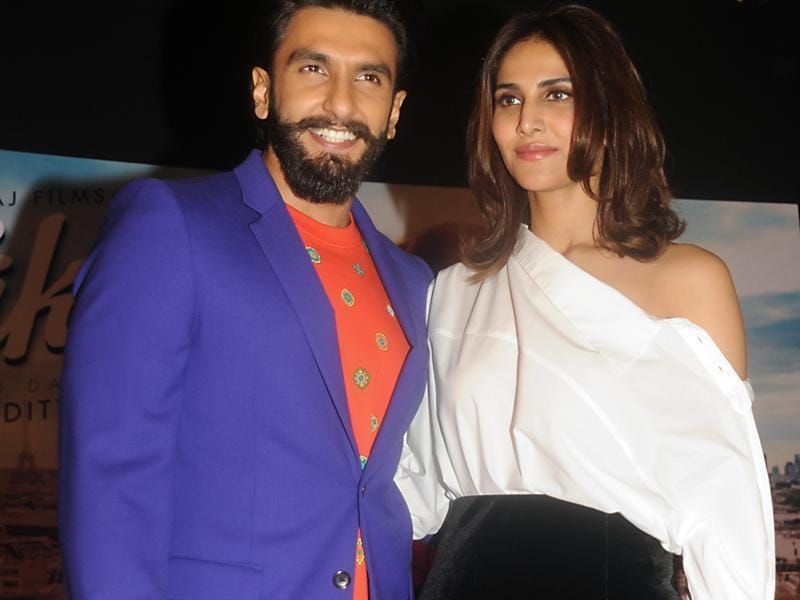 Ranveer is playing Dharam, while Vaani is playing Shyra in Befikre. (AFP Photo)