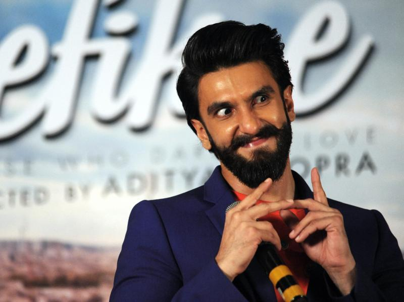 Who could be a better choice than Ranveer Singh to play the lead role in a film about carefree youngsters? (AFP Photo)