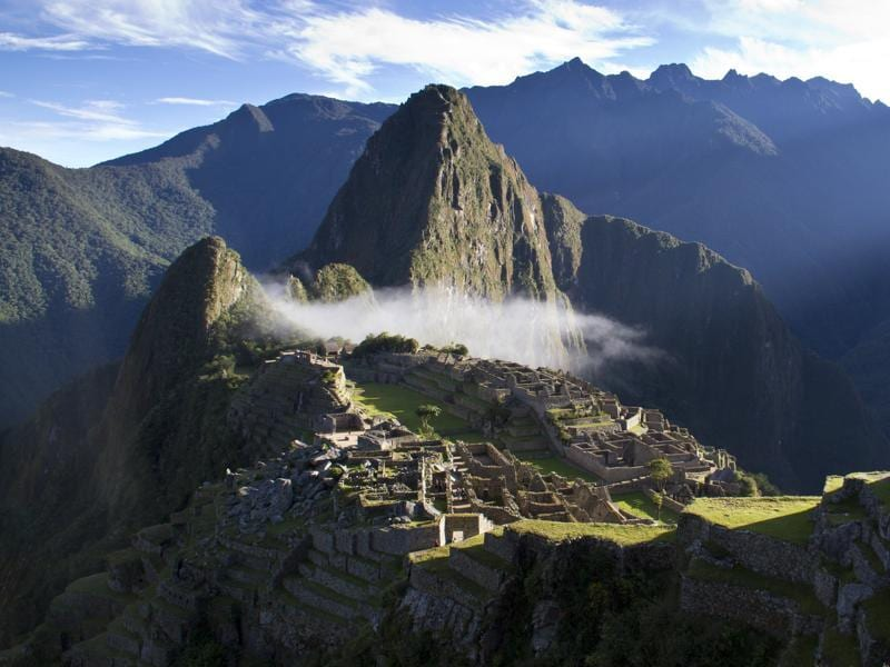 Often referred to as the 'Lost City of the Incas', Machu Picchu in Peru was built in the 15th century and is an Inca citadel. (aFP)