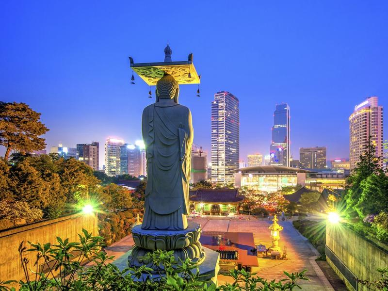 The capital of Republic of South Korea, Seoul is a bustling city, the 16th largest in the world.  (AFP)