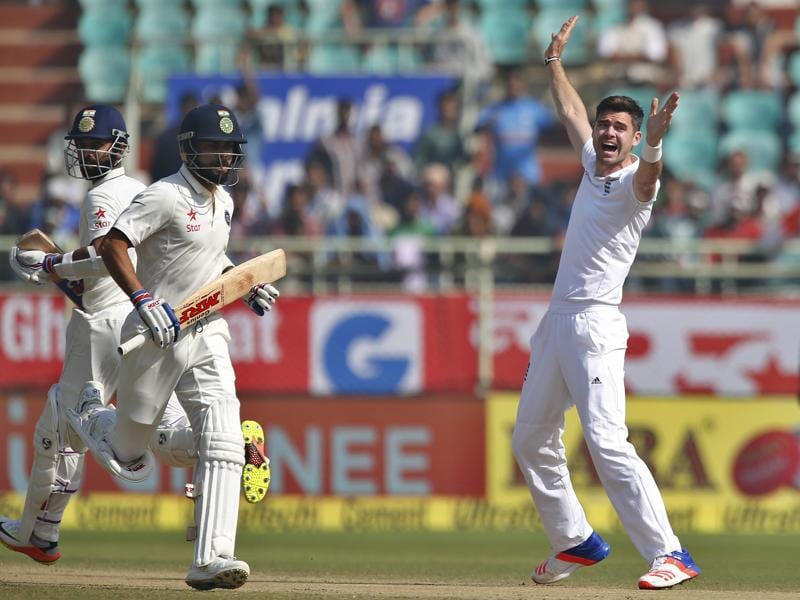 India started day 4 on top as Virat Kohli looked to score another hundred while India targeted a lead of over 400. (AP)