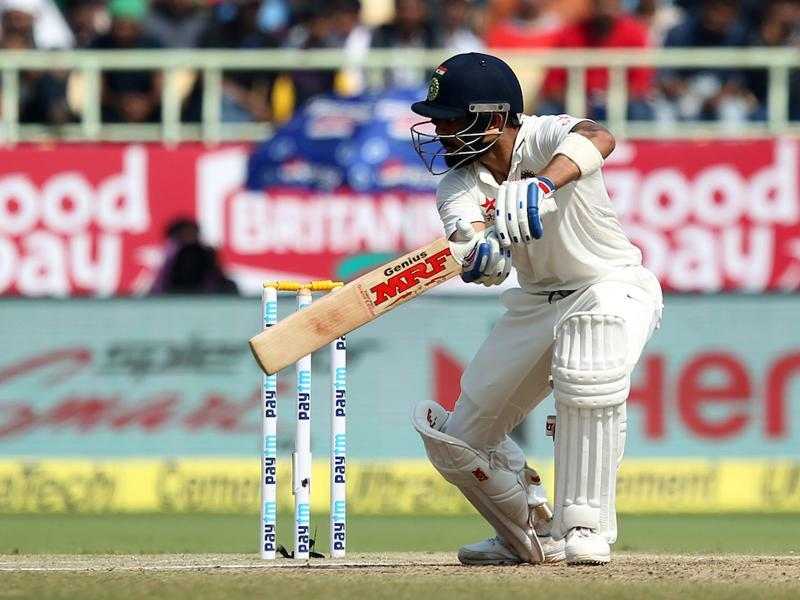 Virat Kohli tackled the conditions very well and looked in great touch (BCCI)