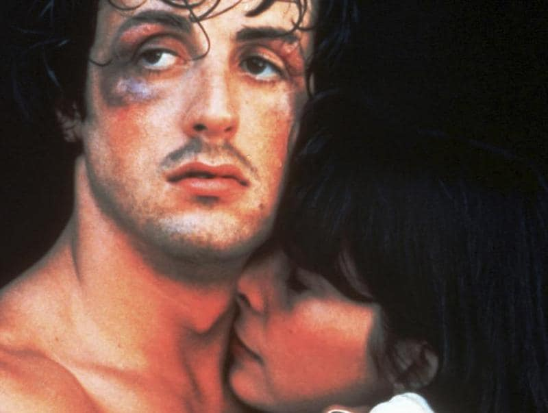 It's been 40 years since Rocky released, and it's still one of the most watched films on TV. (AP Photo)