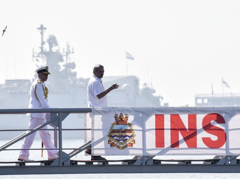 Once a few sea trials of ship-borne systems are completed, INS Chennai will be assigned to the Western Fleet and will be based in Mumbai.  (kunal patil/ht)