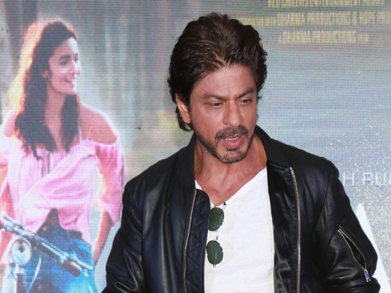 Actor Shah Rukh Khan addresses a press conference ahead of the release of his new film Dear Zindagi. (IANS)