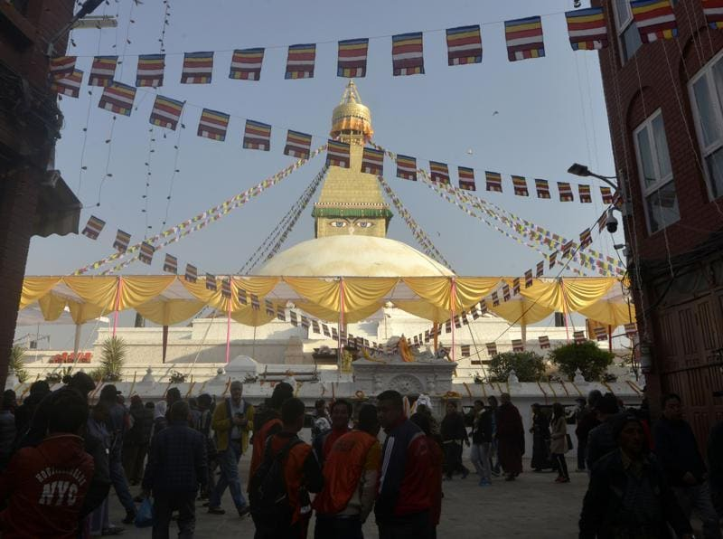 It is said to entomb the remains of Kassapa Buddha. (AFP)