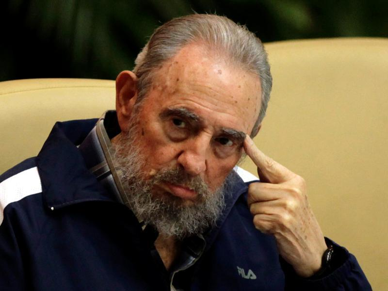 Former Cuban leader Fidel Castro attends the closing ceremony of the sixth Cuban Communist Party (PCC) congress in Havana in this April 19, 2011 file photo. (REUTERS)
