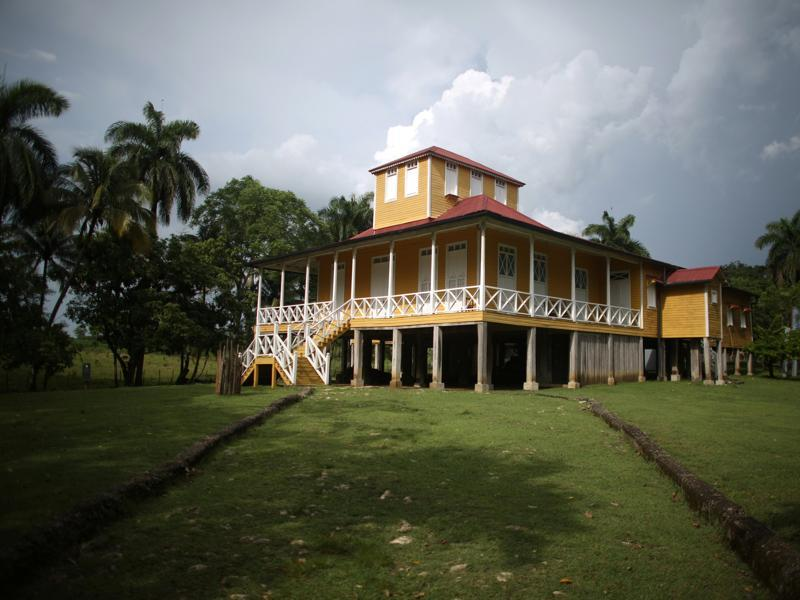 The house where Cuba's former President Fidel Castro and his brother, President Raul Castro, were born which has been turned into a museum open to the public, is seen in Biran, Cuba, June 10, 2016.  (REUTERS)