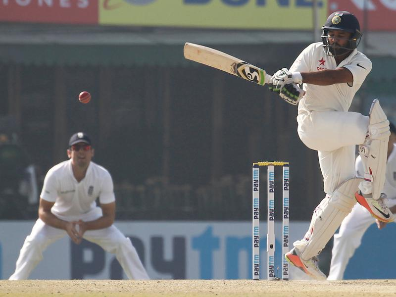 Parthiv Patel , who was making a comeback after eight years, started off confidently opening the batting with Murali Vijay. (BCCI)