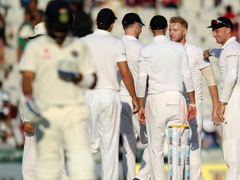 Ben Stokes got the big wicket of Virat Kohli for 62 as England dominated the final session. (BCCI)