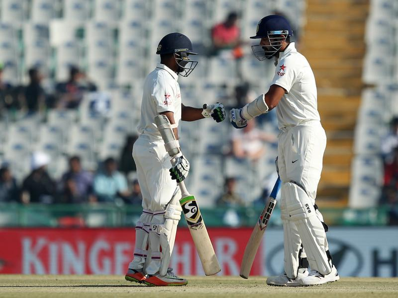 Parthiv Patel and Murali Vijay shared a solid opening stand. (BCCI)
