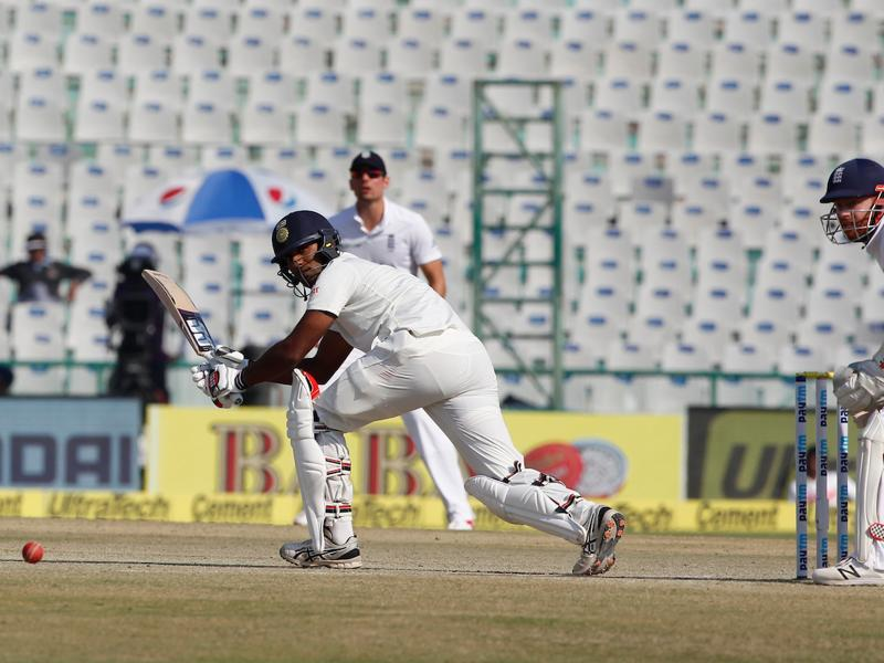Jayant Yadav had shown admirable batting in the Vizag Test. (Photo by: Deepak Malik/ BCCI/ SPORTZPICS)