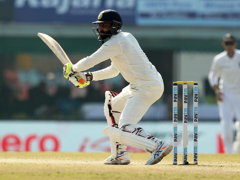 Ravindra Jadeja grew in confidence while Jayant Yadav slowly made progress (BCCI)
