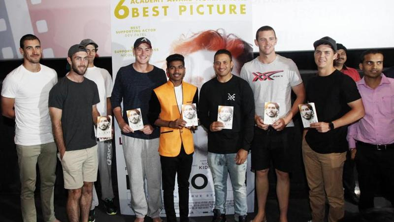 A special screening of Lion was held for Australian cricket team, who are currently in India to play a Test match which is underway in Pune.