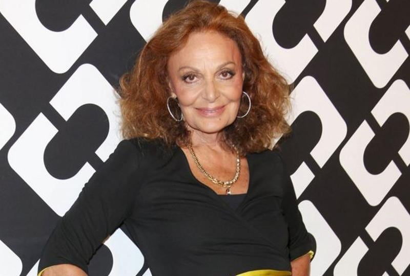 Fashion designer Diane Von Furstenberg: The biggest mistake a woman can make is not to be herself in public or private. (Twitter)