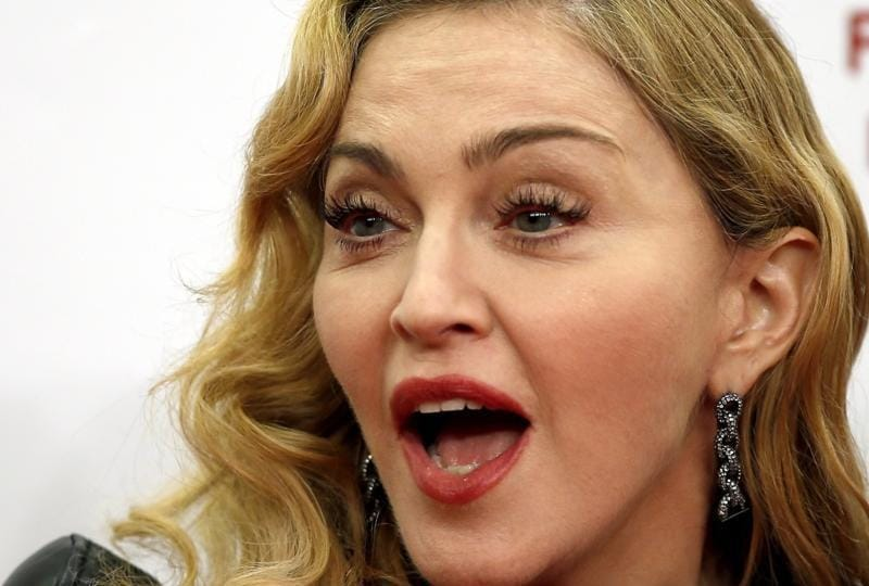 Singer Madonna: A lot of people are afraid to say what they want. That's why they don't get what they want. (AP)
