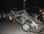 Two kids among 3 killed as tipper falls on car in Jalandhar
