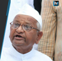 Anna Hazare begins indefinite fast for Lokpal in Delhi