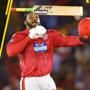 #ICYMI:Kings XI Punjab's Chris Gayle scores first century of IPL 2018