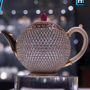 World's most valuable teapot put up on display