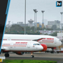 Air India plane hits turbulence, window panel comes off soon after take...