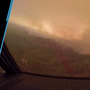Bird's-eye view of the Carr Fire in California