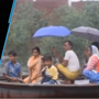 Moradabad residents use boats to commute after heavy water logging