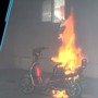 Watch: Electric scooter explodes at home while being charged in China