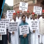 SP, RJD, CPI protest in Parliament over Muzaffarpur and Deoria shelter home...