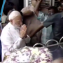 PM Modi pays respect to Karunanidhi at Rajaji Hall